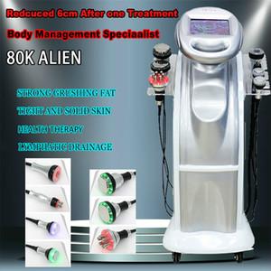 2021 80K + 40K + 40K Cavitazione ad ultrasuoni Aspirazione Multipolare Body Face RF Frozen Ultrasonic Wave Beauty Slimming Machine