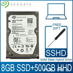 Компьютерный офис Seagate 500GB Solid State Hybrid Drive SSHD Жесткий диск SSD HDD Жесткий диск HD SATA III 6Gb / с 5400 RPM 64M