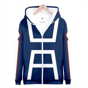 My hero academia hoodies izuku midoriya shouto todoroki boku no hero academia Cosplay Costume Sweatshirt boys girl Zipper Jacket
