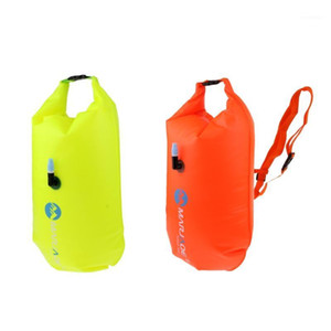 Highly Visible Waterproof Air Bag Swim Buoy Swimming Tow Float Dry Bag with Waistbelt for Inflatable Buoy Open Water Swimming1