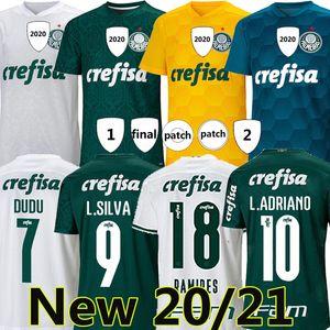 Top Quality 20 21 Palmeiras Jersey Football Home Green Dudo G.Jesus Jean Alecsandro 2020 Palmeiras Awnlione Cleiton Xavier Football Shirts
