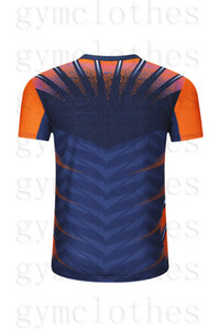 T-shirt de desgaste de badminton de mangas de mangas curtas de secagem rápida Correspondência impressões Sportswear Jerseys00015