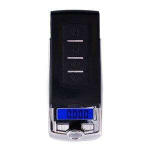 Car Key design 200g x 0.01g Mini Electronic Digital Jewelry Scale Balance Pocket Gram LCD Display DHF3193