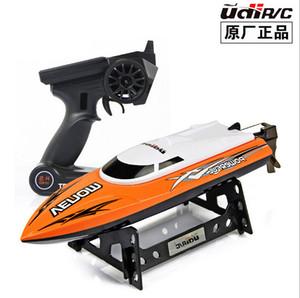 2015 جديد رخيصة التحكم عن بعد اللعب UDI001 2.4 جرام 4ch تبريد المياه rc قارب لعبة 25km / h vs FT007 FT009 WL911 WL912