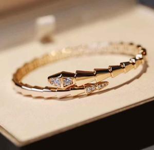 Vente chaude Nouvelle Arrivée Bracelet de conception de Snake Snake Snake Snake pour Femmes Bijoux de mariage Cadeau Pas Fade Pas de changement Couleur Livraison Gratuite PS82