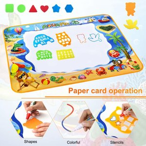 Water Doodle Mat, Large Aqua Magic Water Drawing Mat Painting Writing Pad Educational Toy Gifts for Boys Kids 100*70CM C0122
