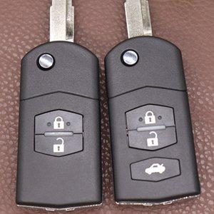 FLIP удаленный ключевой корпус корпуса для Mazda 2 3 5 M6 Заменить оригинальный Flip Mazda Key Shell