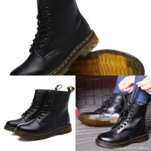 Az8jz Top Qualität ROIS BOTS SCHNEE REAL PAARE Hohe Frau Angehängte Stiefel Knöchel Monolith Bags Stiefel Womens Black Boot Leder Leder Nylon