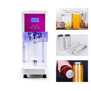 Milk tea coffee can sealing machine 55mm beverage bottle sealing machine aluminum can beer sealing machine 220V smart