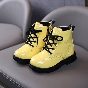 Noyway Winter stivali casual scarpe per ragazze ragazzi stivali corti scarpe da 1-6 anni vecchi natale stivali scarpe scarpe suola in gomma Suola bambini Q0112