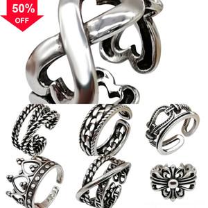 BXjgm Exquisite Women Pendant Cross Dancing 3 Cross 1 adjustable cross lock Vintage Style in Necklaces Stone ring Pendant Necklace Diamond S