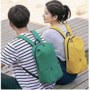 Hot Sale Xiaomi Mi Casual Backpack 10L 15L 20L Original Mi Leisure Sports Bag Lightweight Urban Unisex
