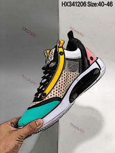 2020 new high quality AJ34 mens basketball shoes 34 XXXIV Digital Pink AJ 34 trainers Athletic Store up size 40-46