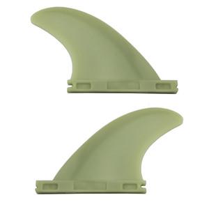 2pcs / set Surfboard Fins pour l'avenir de haute qualité en plastique Future Fins Sup Surf Fin