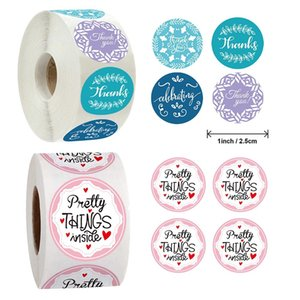 500pcs Creative Thank You Pretty Things Inside Label Sticker Gift Bag Diy Decoration Stationery Stickers bbyZpt hotclipper