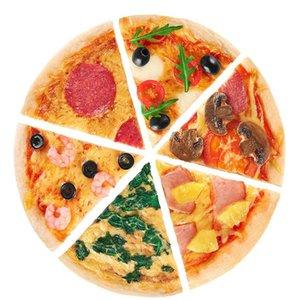 8Inch Sile Cake Ronde Pan Sile Gâteau Moule Four À Cuisson Outils de cuisson Mousseline Cake Pizza Pan (couleurs Qylcyle
