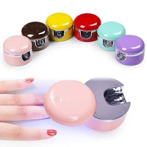 Portable Mini LED UV Lamp Nail Dryer USB Phone Shape Black Red UV Gel Nail Art Fast Drying LED UV Lamp