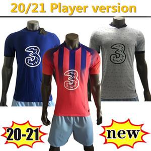 плеер версии 2020 2021 дом вдали третий футбол Джерси # 10 PULISIC # 22 ZIYECH # 29 HAVERTZ мужчин 2021soccer рубашка Customized Футбольная форма