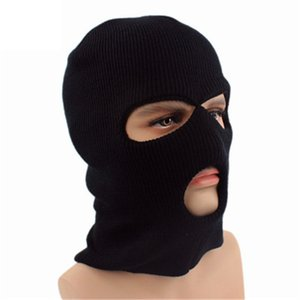 It is a winter riding face shield that protects the warmth in autumn and winter. Outdoor woolen cap three-hole face dustproofGXY010