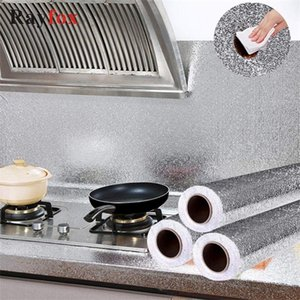 2M Oil Proof Accessories Self Adhesive Aluminum Foil Stickers Wallpapers Multipurpose For Kitchen Home Gadgets