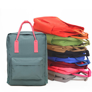 Dropship Marque 19Colors Colorful Sport Outdoor Packs Casual Sac à dos Filles Garçons Couple Cartable Sacs à dos pour Teenage 3sizes 7L 16L 20L