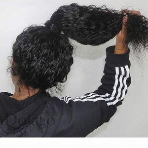 Peluca frontal del cordón de 360 con pelo con cabello bebé onda profunda transparente encaje completo pelucas de pelo humano 370 peluca frontal del cordón falso del cuero cabelludo
