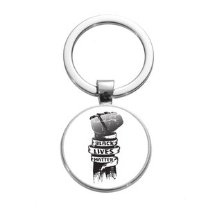 I Cant Breathe Keychain Acrylic Letter Key Chain American Parade Slogan Pendant for Car Keys Bag Key Ring Black Lives Matter ZZF2434