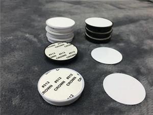 Sublimation Blank Handy Ständer aus Kunststoff mit Metalleinlage Wärme trasnfer Druck Sublimation Halter-Standplatz ohne Haken Grip Großhandel