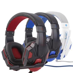 Novo Sy830MV Comprimento Ajustável dobradiças 3.5mm Surround Estéreo Stereo Headset Headband Headphone com Mic para PC 3 Cor para Escolha