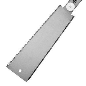 Double Razor Edge lame de scie de style japonais Pull dents de scie de précision Par la main pour le travail du bois Tenon Outils