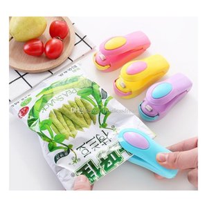 mini household capper bag heat sealer portable heat sealing machine impulse sealer seal packing plastic bag plastic food saver storage
