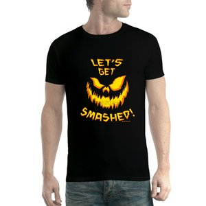 Halloween pumpkin jack-o' - lantern mens t-shirt xs-5xl(1) sport Hooded Sweatshirt Hoodie