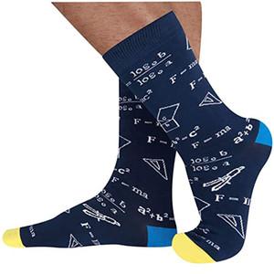 Mathematical Formula Socks Street Style Stockings For Women Men Cotton Sock Hip Hop Skateboard Sport Sock