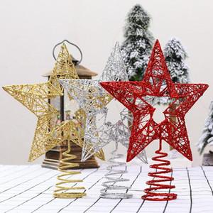 Christmas Tree Star Tree Topper Xmas Decoration Iron Decoration Props 5 Point Star Xmas Christmas Decor For Home