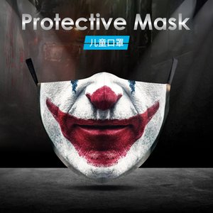 Cosplay Soul Clown DIY 2 Полиэстер Моющаяся Новая Маска Хэллоуин PKUPB