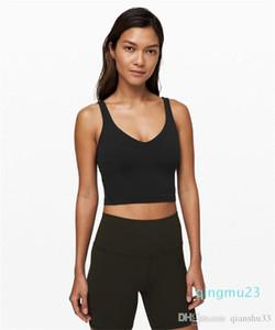 Spor strappy Sport Üst Sorunsuz Yoga Wear Koşu Kadınlar Spor Salonu için sıcak satış moda-Hizala Tank Yoga Spor Bra