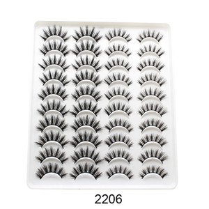 15-25mm Mink eyelashes 5 20 pairs of handmade 3d mink lashes natural eyelashes extended beauty makeup false eyelashes