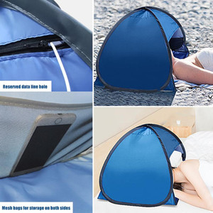 UV Protection Outdoor Beach Sun shelter Mini Camping Awning Face Tent Up Ultralight Garden Canopy Sunshade