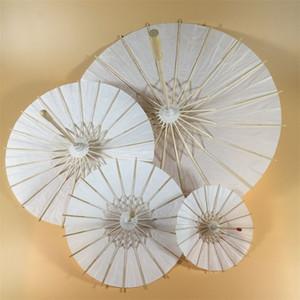 DIY şemsiye boş yağ kağıt zanaat boyama moda şemsiye çocuk anaokulu el boyalı manuel renk 6 5bs4 m2
