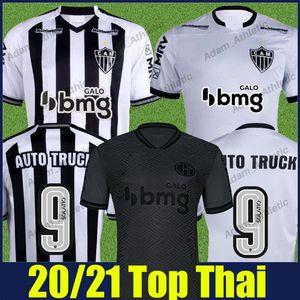 2020 2021 Atletico Mineiro Futbol Formaları Sasha Vargas M.zaracho Futbol Foruları Elias Guga Keno D.Tardelli Marquinhos Camisa de Galo 20/21