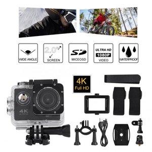 방수 케이스 사냥 캠코더 야외 수상 스포츠 액션 사냥 카메라 수영 2 인치 4K HD 비디오 액션 카메라