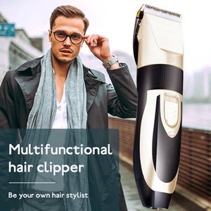 USB Rechargeable Professional Hair Clippers Men Electric Barber Beard Shaving Trimmer Set Trimmer Shaver Cutter Hair TrimmersRab