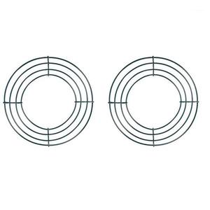 BMBY-2 pacote de arame grinalda quadro fio grinalda fazendo anéis verde para ano novo dia dos namorados (8 polegadas) 1