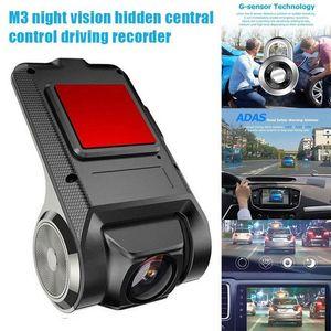 Cameras Car Recorder Driving USB DVR Front Dash Camera Night Vision Velocità misurazione @ M231