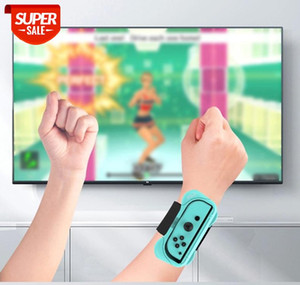 For Switch Nunchaku Dance Wristband NS Two-in-One Grip Dancing Bracelet for NS joycon Wrist Grip #jh9M