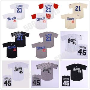 Mens Birmingham Barons Michael 45 Jersey 21 Santurce Crabbers Puerto Rico Josh Gibson 20 Homestead Greys Negro League Movie Baseball Jersey