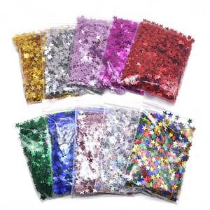 6/10mm stern konfetti glitter acryl sterne pailletten streustle für hochzeit geburtstag party tisch dekoration konfetti ballon füllung