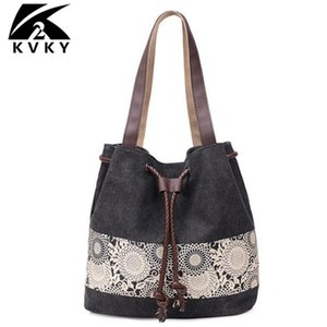 Hot sale multifunctional Canvas Women Totes fashion Female handbag shoulder bag Vintage Ladies Hand Bags bolsas feminina
