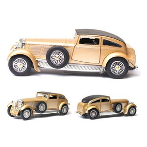 1:28 Scale 17.5 CM Metal Alloy Diecasts 1930 Classic Vintage Pull Back car Vehicles model Toys F Children Kids Collection