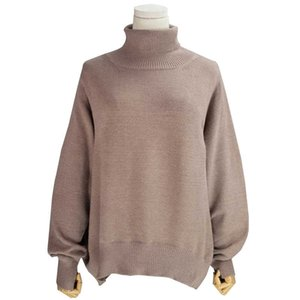 Aossviao New 2020 Donne autunno inverno in stile coreano in stile kitwear truckleneck caldo pullover solido minimalista maglione elegante